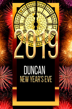 Duncan New Year's Eve ~ 12.31.2018