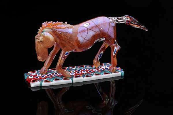 Bendini horses for the glass collector