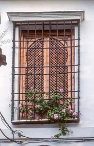 Fenster in der Altstadt, Juderia, Cordobas