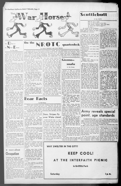 Daily Trojan, Vol. 36, No. 193, September 05, 1945
