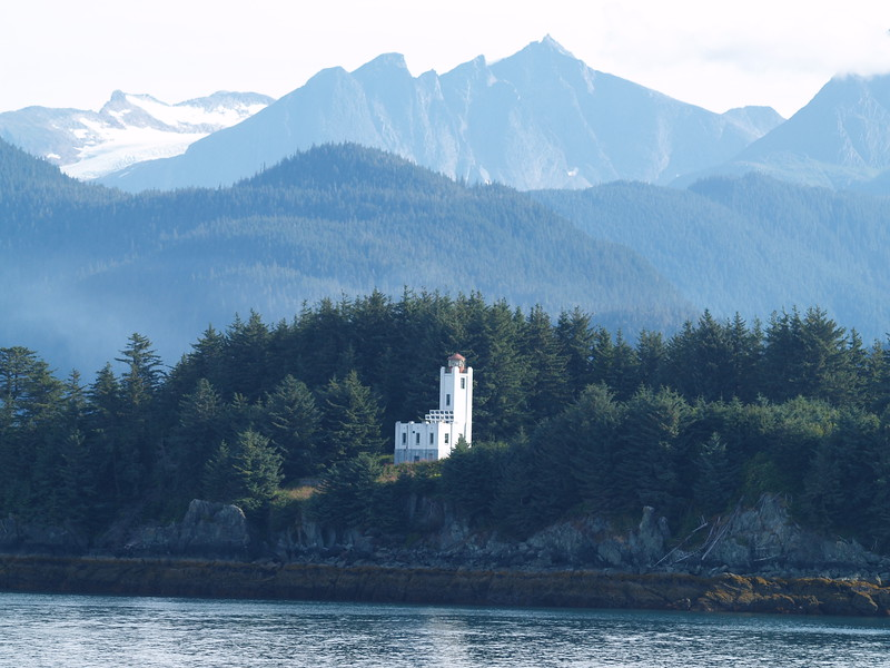 Sentinel Island Lighthouse in Favorite Channel