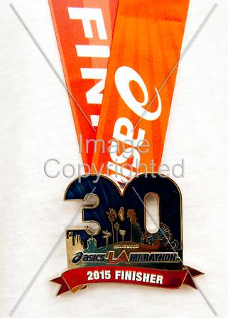 2015 - LA Marathon Race Day