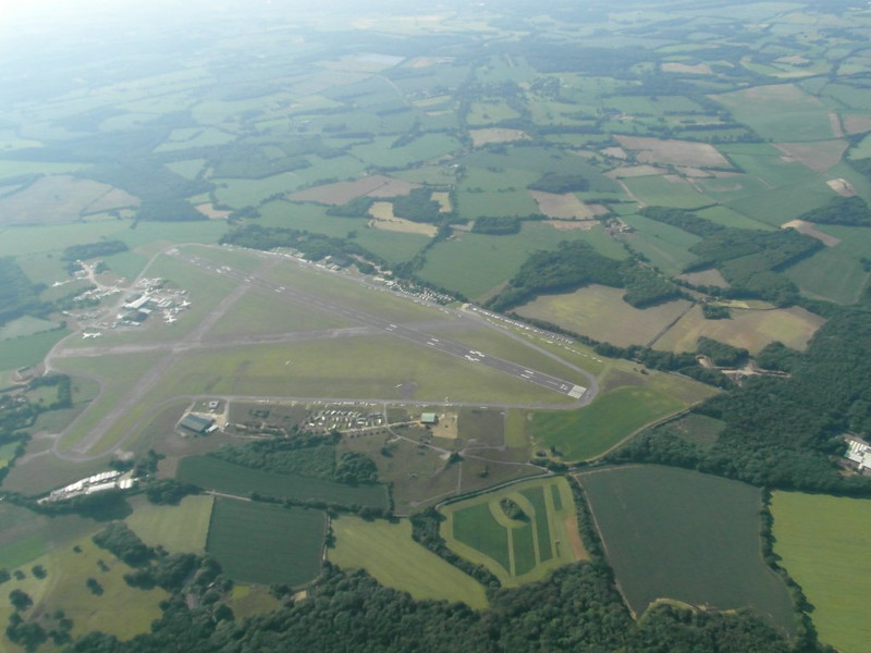 Lasham from 4000 ft or FL045