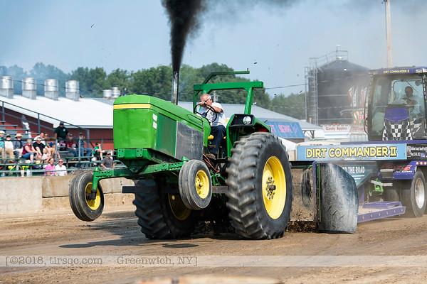 2018-Tracteurs de ferme-Greenwich,NY