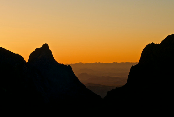 The Big Bend of Texas