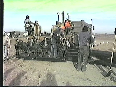 Original Runway Construction