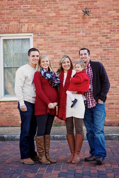 Croxton/Gamble Families