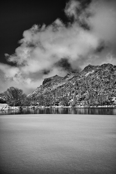 Along the shores of Granite Basin Lake