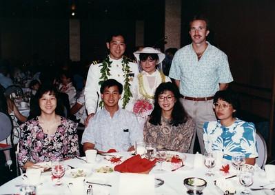 Kevin Nonaka wedding 1989