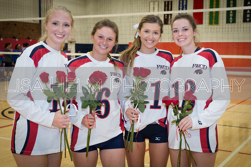 2017 Volleyball Sr. Night