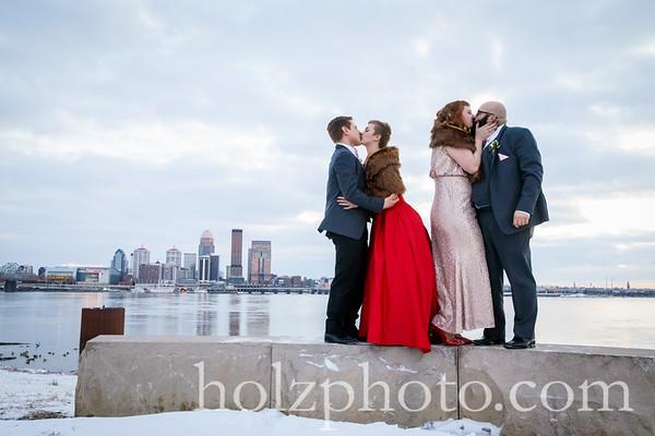 Ellie & Michael Color Wedding Photos