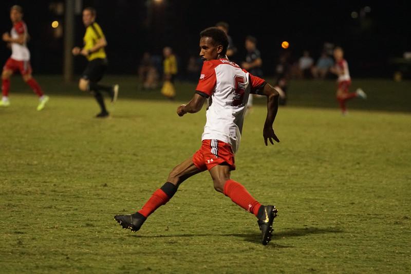 Gardner-Webb University Men's Soccer takes on Longwood University.