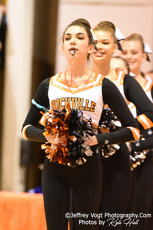 1-05-2019 Rockville High School at Watkins Mill High School 2nd Annual Poms Invitational at Watkins Mill High School, Photos by Jeffrey Vogt Photography with Kyle Hall,