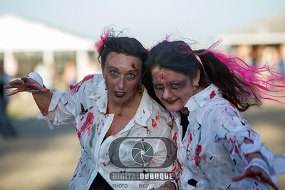 Zombie 5K Run Dubuque Fairgrounds