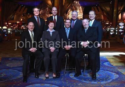 Mohegan Sun Casino - Executive Group Portrait - February 11, 2010