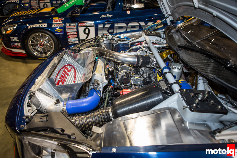 K-PAX World Challenge Volvo S60 engine bay front suspension