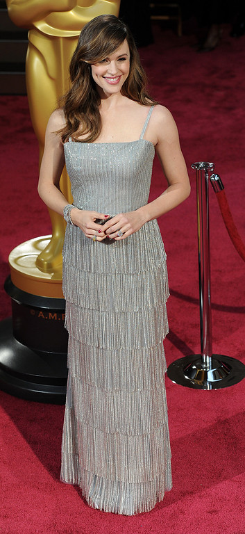 . Jennifer Garner attends the 86th Academy Awards at the Dolby Theatre in Hollywood, California on Sunday March 2, 2014 (Photo by John McCoy / Los Angeles Daily News)
