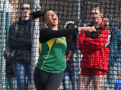 Brockport Throwing Events at U of R 4-9-11