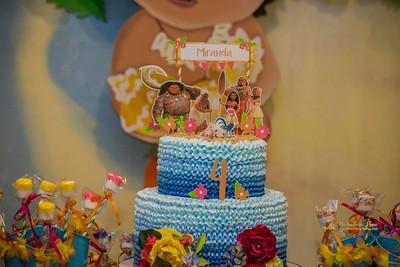Cumpleaños Miranda Mohana Style Detalles
