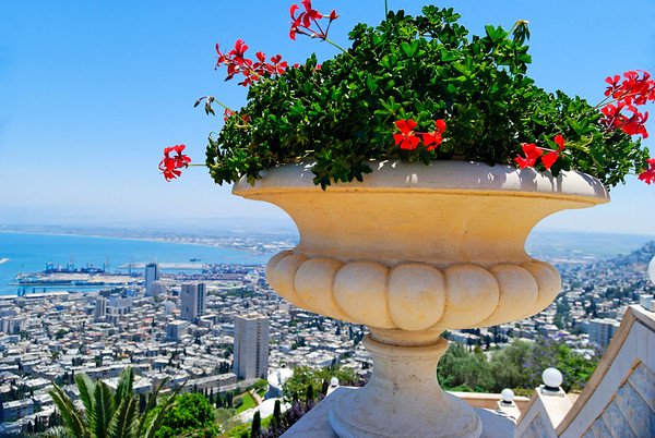 Baha'i Shrine and Gardens