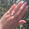 2.13ct Antique Pear Shape Diamond, GIA I, VS2 33