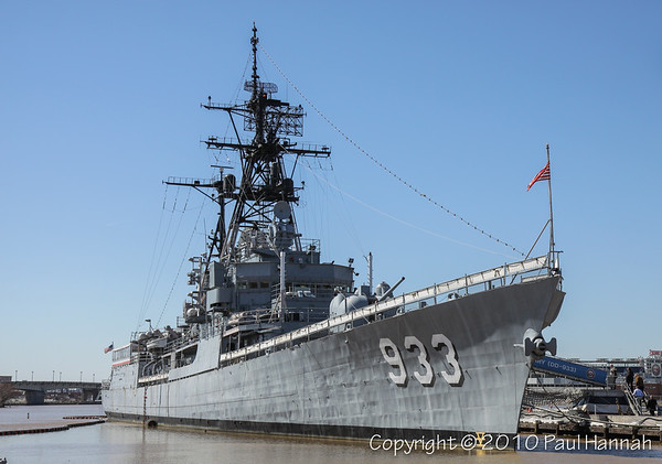 USS Barry (DD-933) - Washington, DC