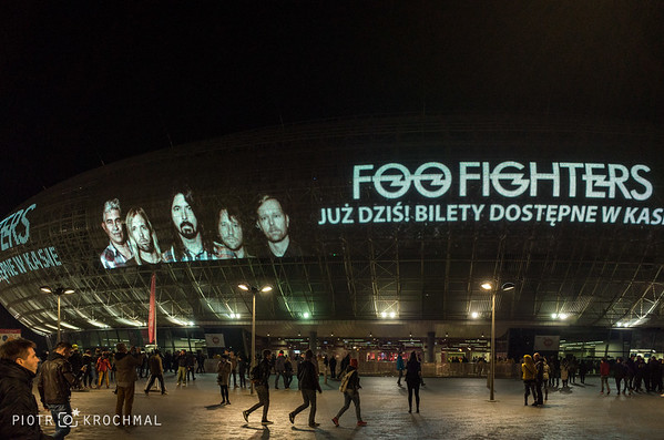 Foo Fighters in TAURON Krakow Arena