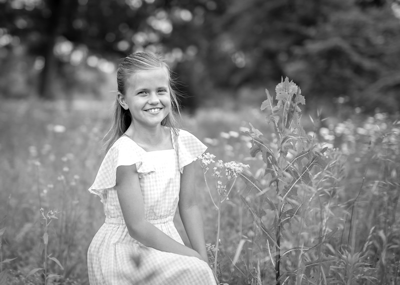 Nora with Tall Grasses bw (7 of 9).jpg