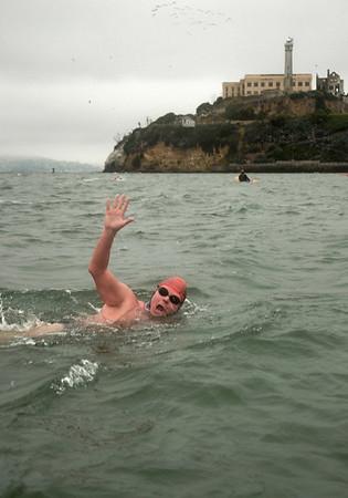 Swim Around The Rock     May 26, 2007