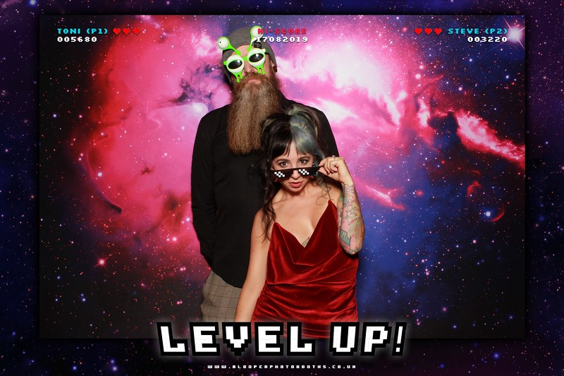 Level Up! Toni & Steve's Wedding