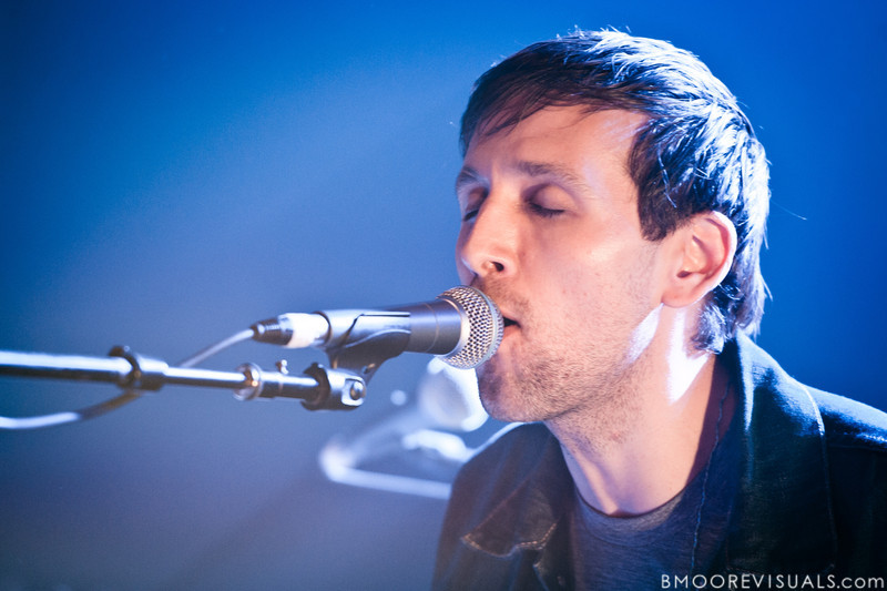 Andrew Dost of fun. performs during a sold-out show in support of Some Nights on March 7, 2012 at State Theatre in St. Petersburg, Florida