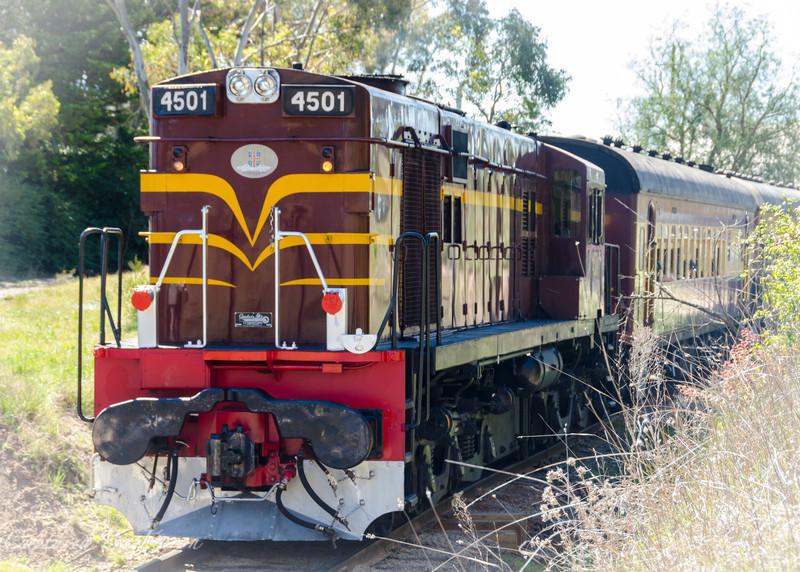 Train to Kandos_7477 3801 50th Birthday