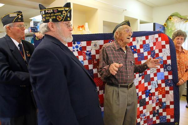 Veterans's Day at Thompson Senior Center, 2017