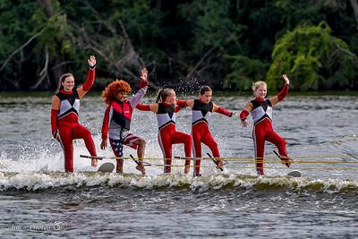Waterski - Rock Aqua Jays - B Team - August 19, 2018