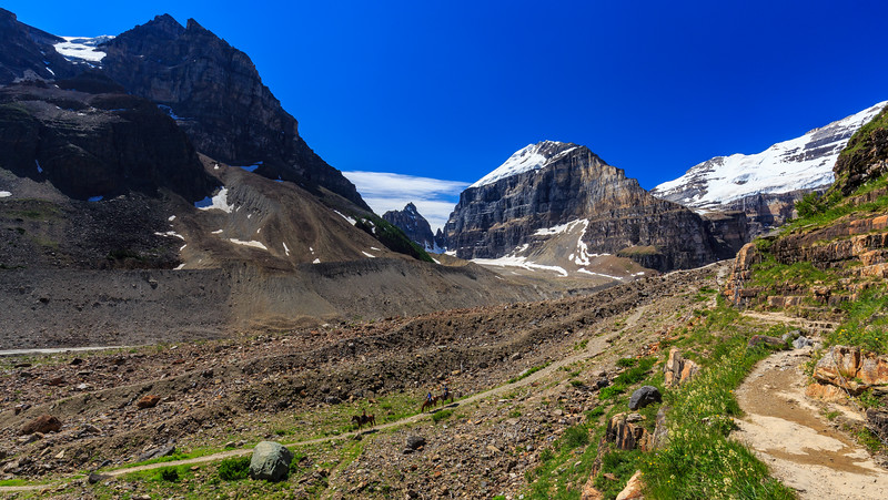 Plain Of The Six Glaciers Riders