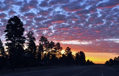 Overgaard, Arizona Morning