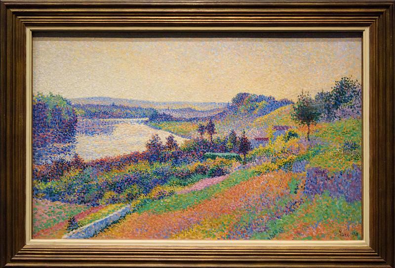 Maximilien Luce: La Seine à Herblay, 1890