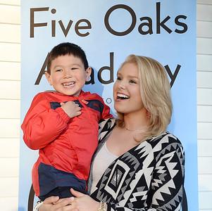 Ali Rogers Visits Five Oaks Academy