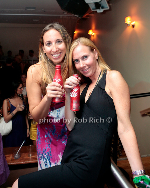 Girls with cokes