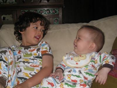 Dylan & Skylar--June 2010