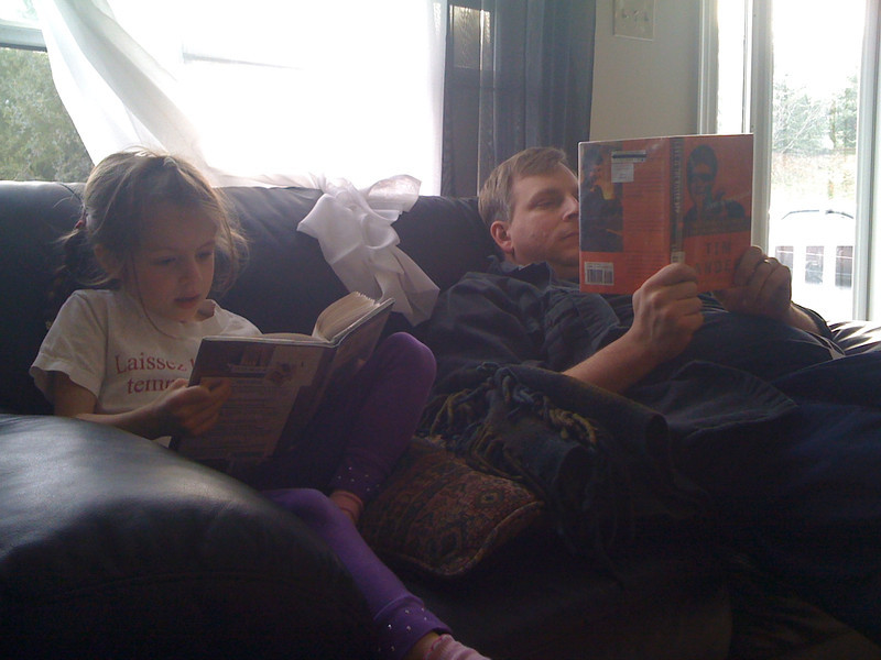 Silent Reading (mostly)