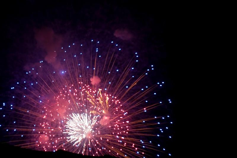 Paleo Festival Fireworks