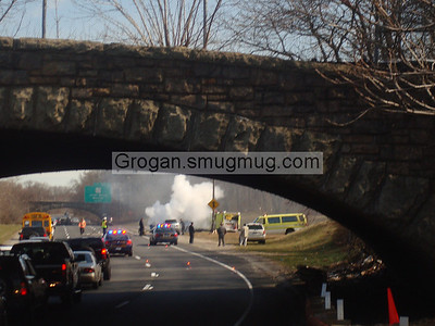 SSP & Nassau Rd Car Fire 3/13/08
