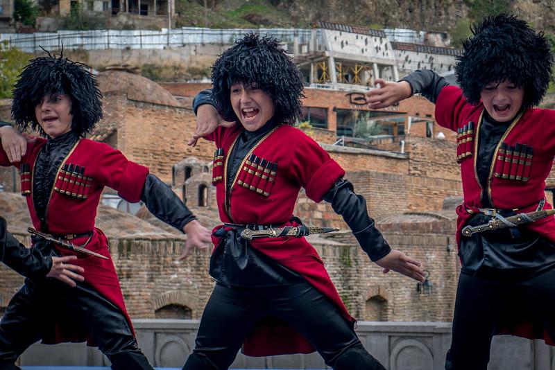 Tbilisoba celebrations in Tbilisi, Georgia.