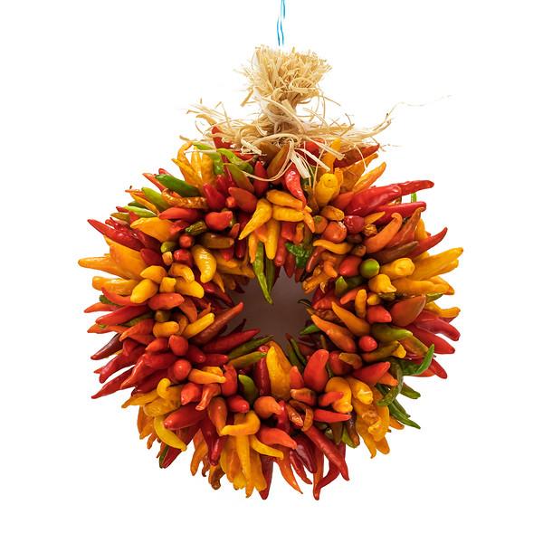 Fresh Chile Company - Multi Color Chile Ristra - 10 Inch Reef.jpg