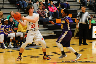 Jonesville vs Concord Boys Varsity Basketball
