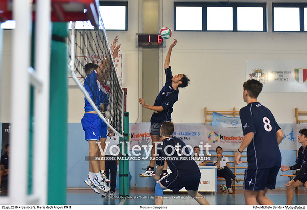 Molise - Campania [M] #TDRvolley2016