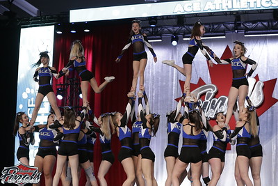 ACE Athletics  Outlaws - Canadian Finals Level 4
