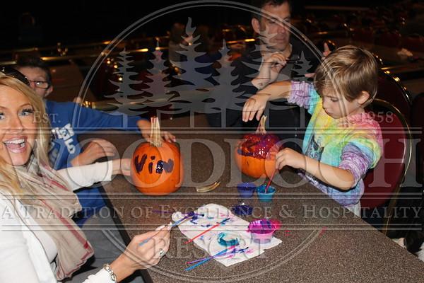 October 11 - Pumpkin Painting