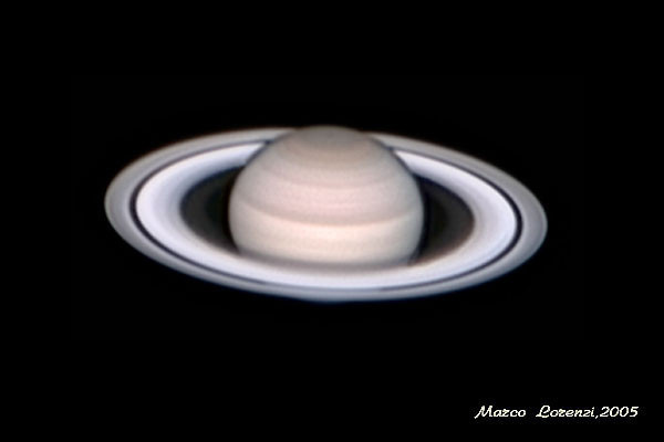 Saturn in January 2005